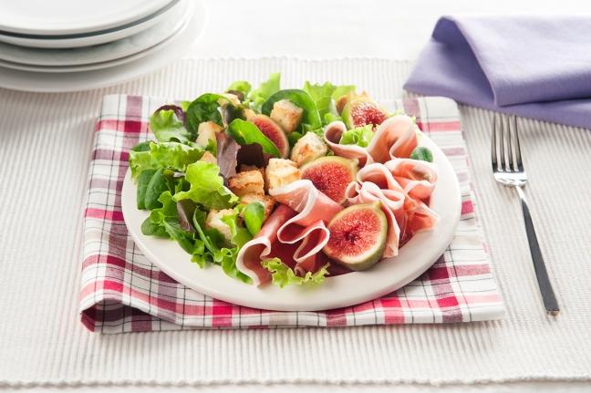 insalata fichi crudo parmigiano